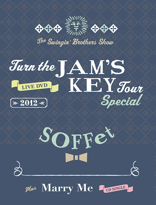 <LIVE DVD + New Single CD><br>LIVE DVD Turn the JAMS KEY TOUR SPECIAL 2012 -2MC1DJ1TJB-<br>+<br>SINGLE CD Marry Me