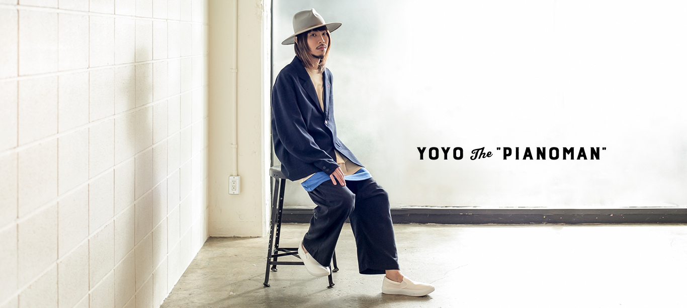 "YoYo the ""Pianoman""メイン画像"